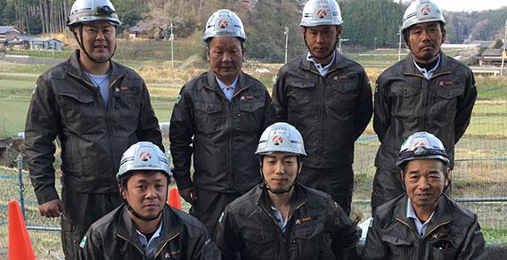 全国の土木工事を支える タイセー工業株式会社 コンセプトイメージ画像