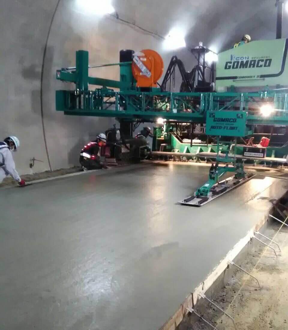 全国の土木工事を支える タイセー工業株式会社 トンネル工事