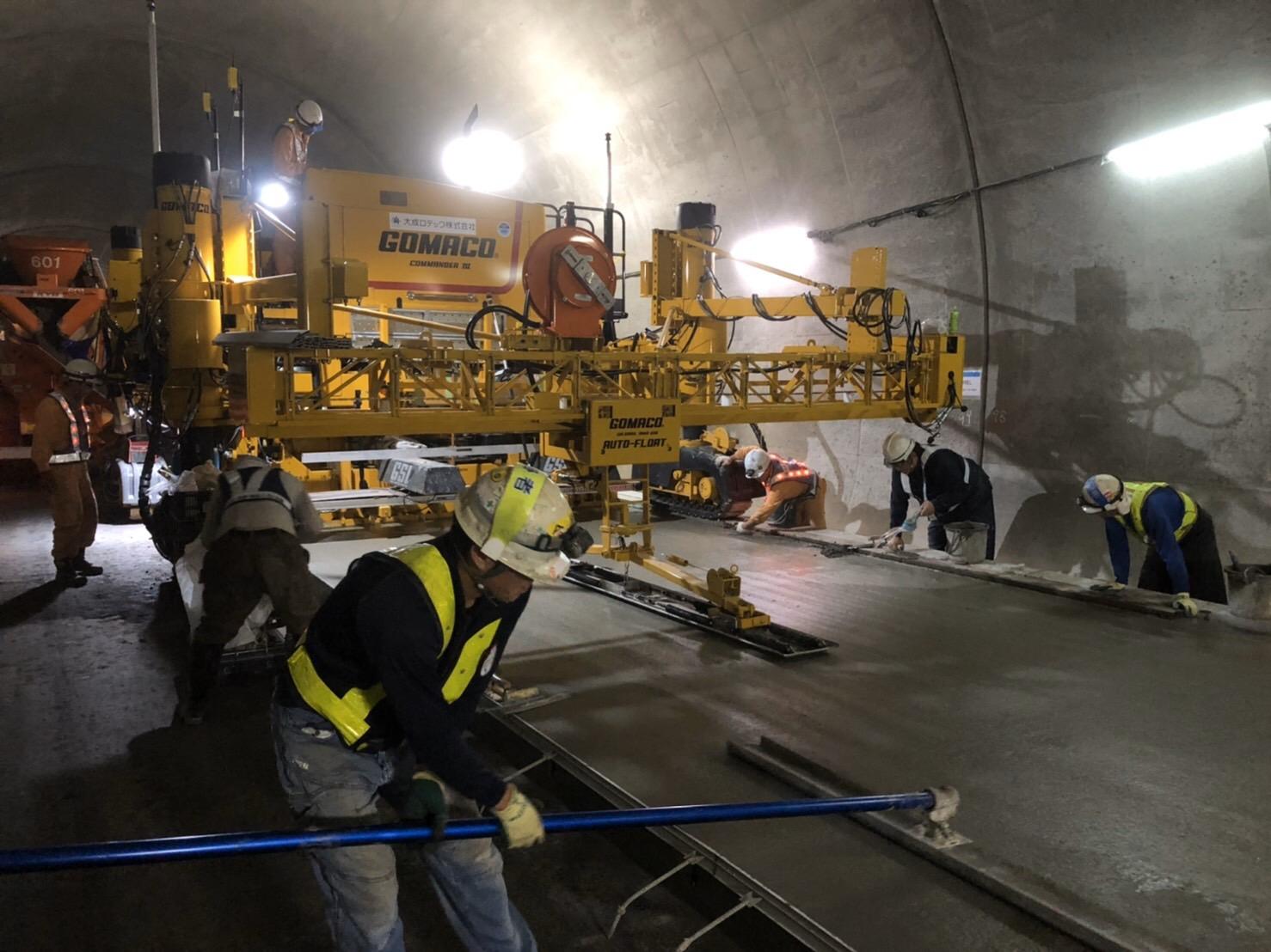 太子トンネル トンネル工事