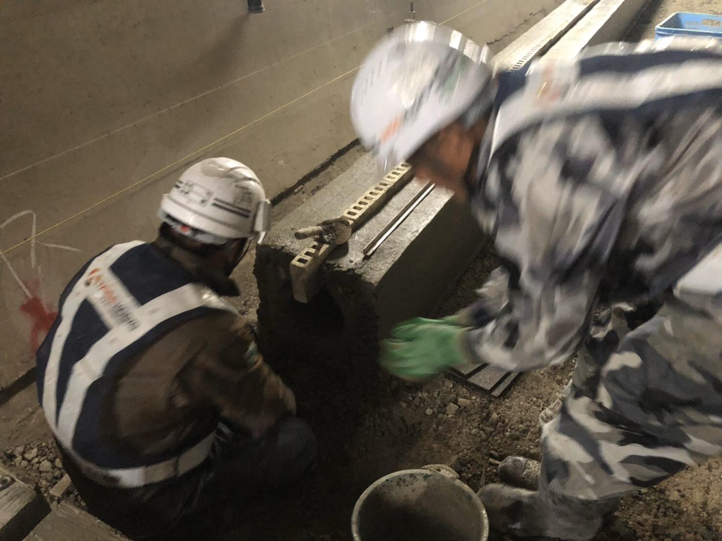 豊岡 トンネル工事