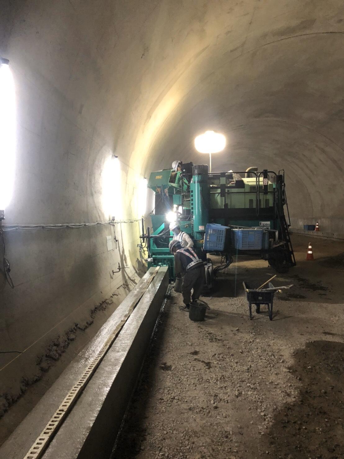 全国の土木工事を支える タイセー工業株式会社 豊岡 トンネル工事